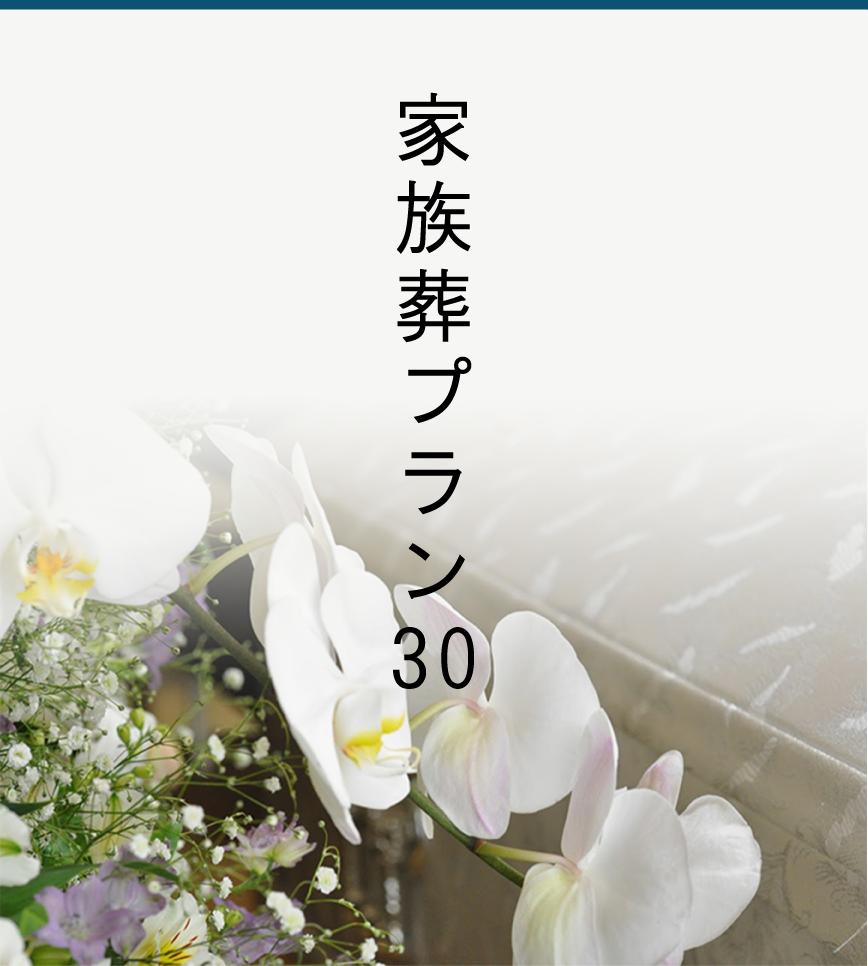家族葬プラン30