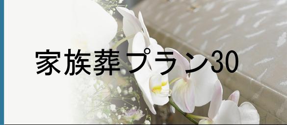 家族葬プラン30詳細